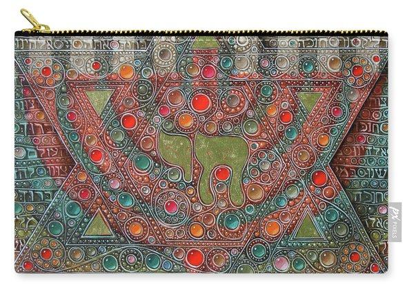 Hanuka Prayer Carry-all Pouch