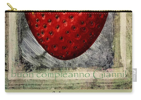 happy birthday Gianni Carry-all Pouch