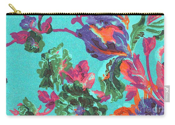 Happy Blooms Carry-all Pouch