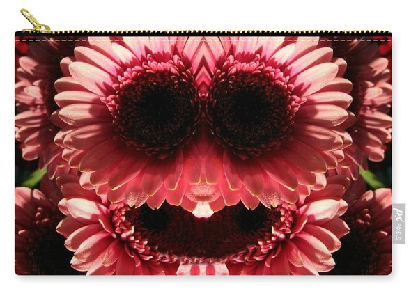 Happy Daisies Are Here Again Carry-all Pouch