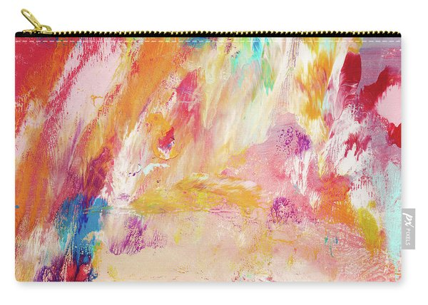 Happy Day- Abstract Art By Linda Woods Carry-all Pouch