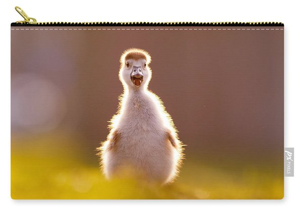 Happy Easter - Cute Baby Gosling Carry-all Pouch