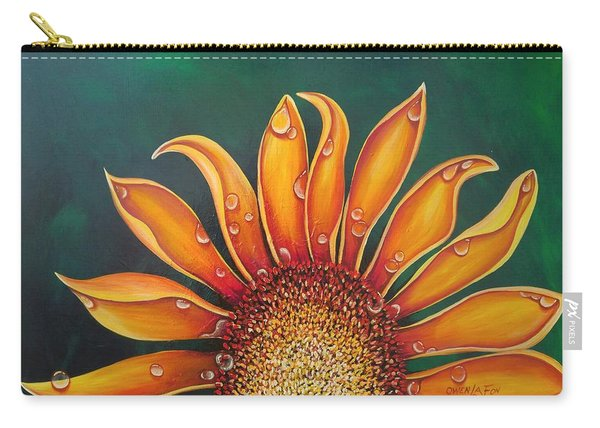 Happy Flower Carry-all Pouch