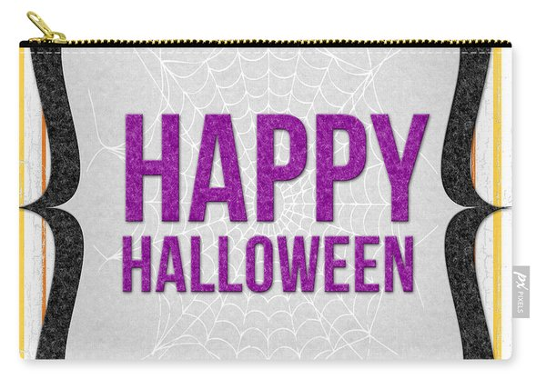 Happy Halloween-art By Linda Woods Carry-all Pouch