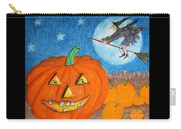 Happy Halloween Boo You Carry-all Pouch