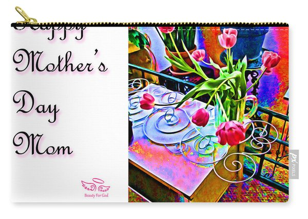 Happy Mother's Day Mom Carry-all Pouch