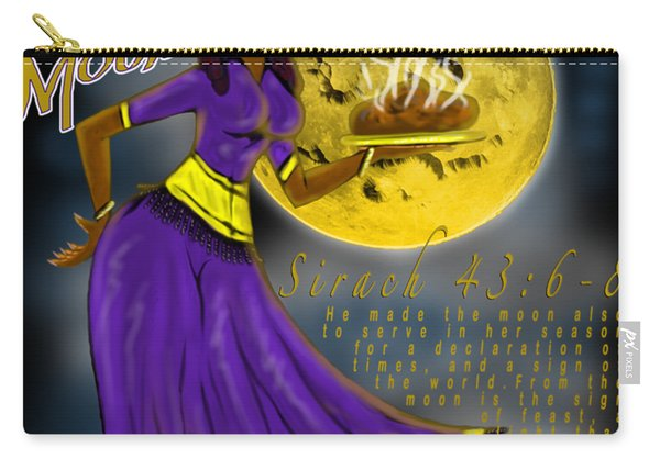 Happy New Moon Sirach 43 Carry-all Pouch