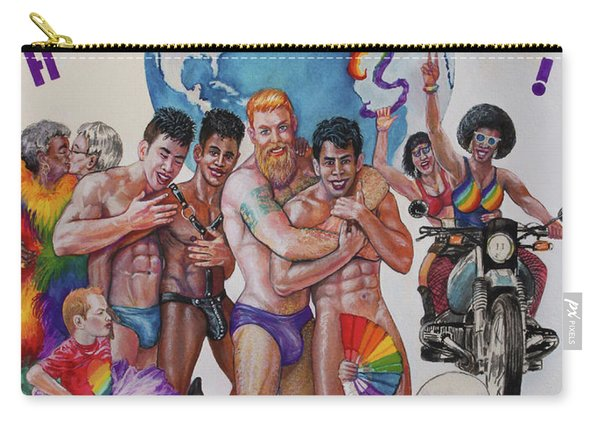 Happy Pride Carry-all Pouch