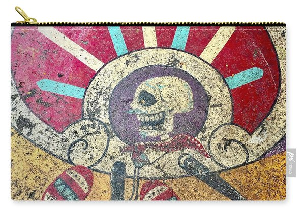 Happy Skull Carry-all Pouch