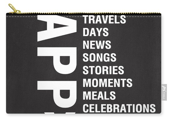 Happy Things Carry-all Pouch
