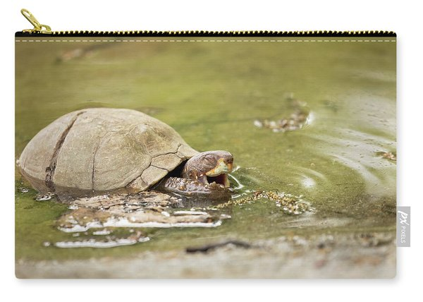 Happy Turtle Carry-all Pouch