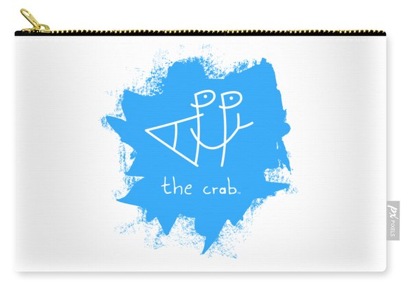 Happy The Crab - Blue Carry-all Pouch