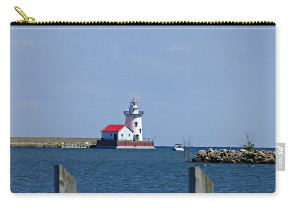 Harbor Beach Lighthouse Carry-all Pouch
