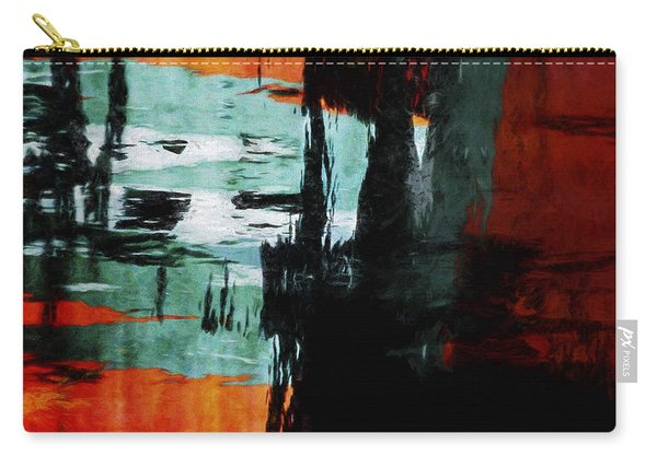Harbor Lights Water Reflections Painterly Carry-all Pouch