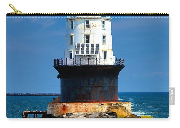 Harbor Of Refuge Lighthouse Carry-all Pouch
