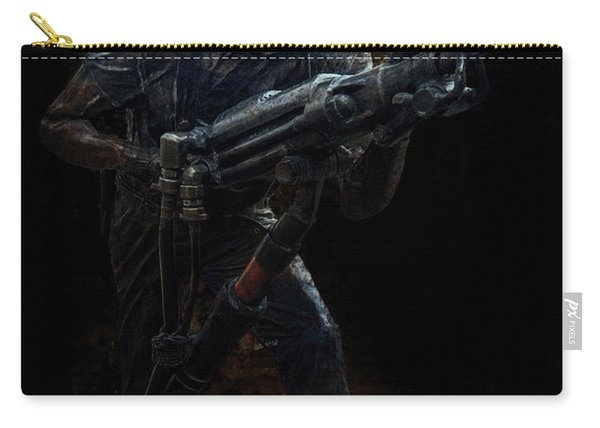 Hard Rock Mining Man Carry-all Pouch