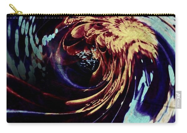Hard Storm Abstract Carry-all Pouch