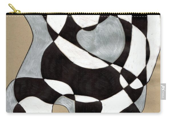 Harlequin Abtracted Carry-all Pouch