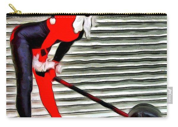 Harley Quinn Classic  - Van Gogh Style -  - Da Carry-all Pouch
