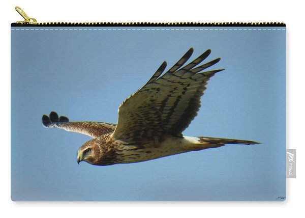 Harrier In Flight Carry-all Pouch