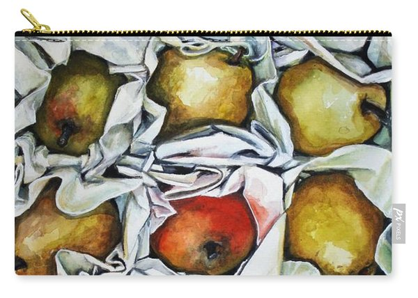 Harry And David's Box Of Pears From David And Carrie Carry-all Pouch