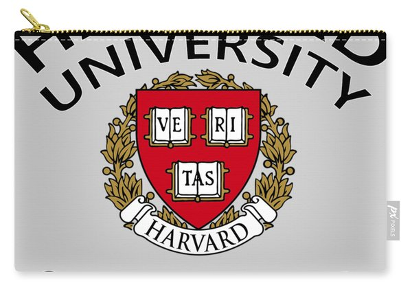 Harvard University Cambridge M A  Carry-all Pouch