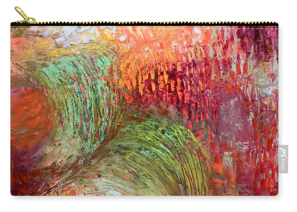 Harvest Abstract Carry-all Pouch