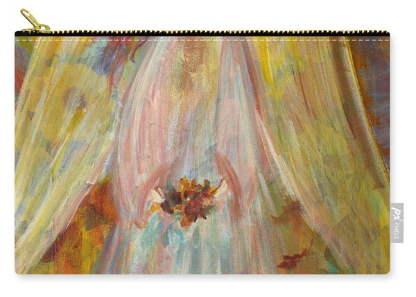 Harvest Autumn Angel Carry-all Pouch