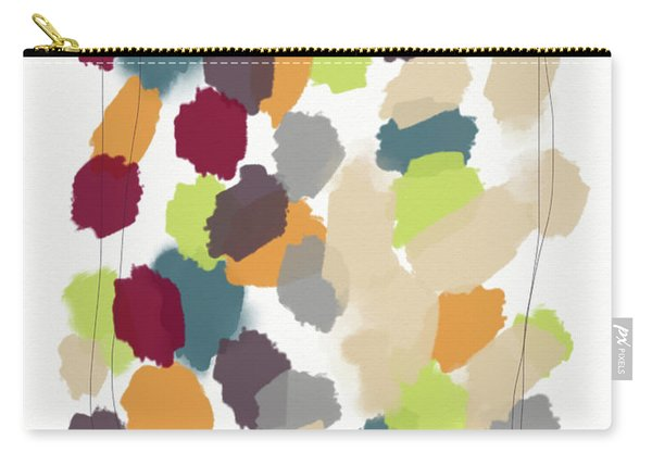 Harvest Day- Abstract Art By Linda Woods Carry-all Pouch