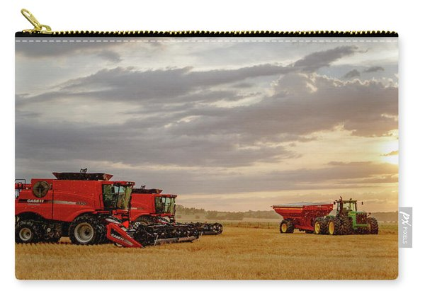 Carry-all Pouch featuring the photograph Harvest Delayed by Rob Graham