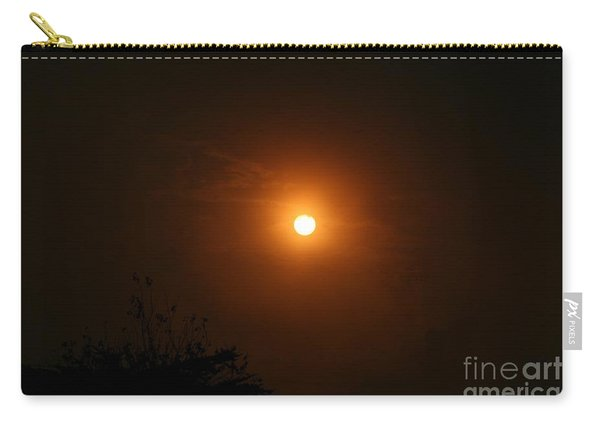 Carry-all Pouch featuring the photograph Harvest Moon by Cynthia Marcopulos
