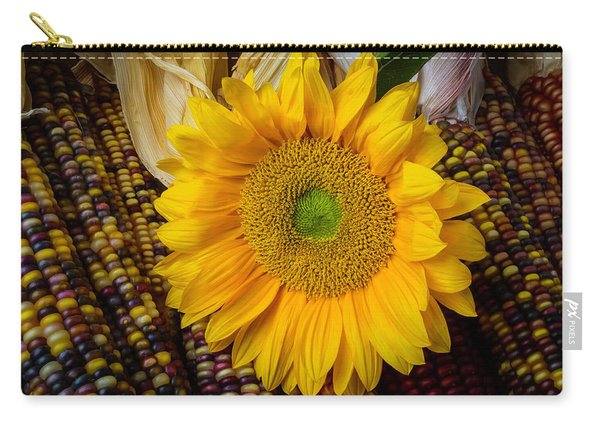 Harvest Sunflower Carry-all Pouch