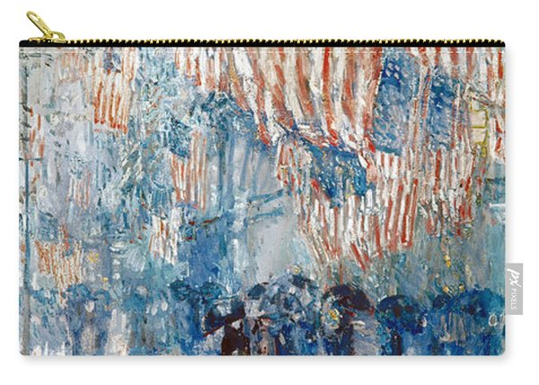 Hassam Avenue In The Rain Carry-all Pouch