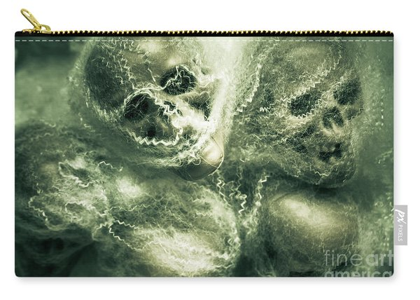 Haunted Undead Skeleton Heads Carry-all Pouch