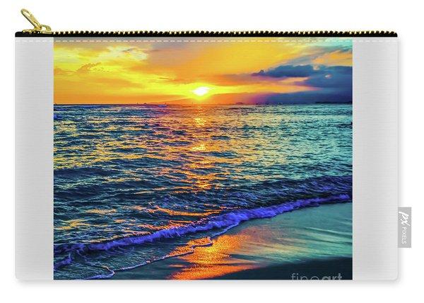 Hawaii Beach Sunset 149 Carry-all Pouch