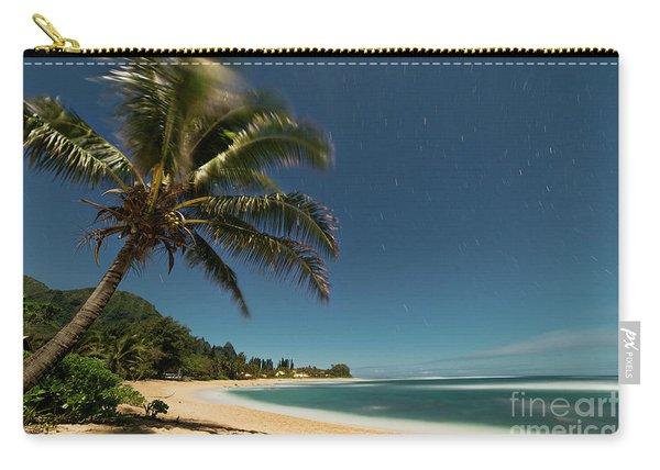 Hawaii Moonlit Beach Wainiha Kauai Hawaii Carry-all Pouch