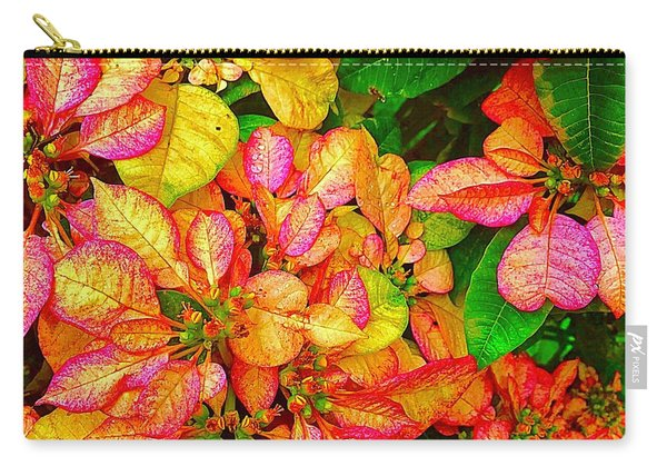 Hawaiian Poinsettias In Puna Carry-all Pouch