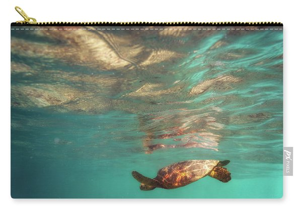 Hawaiian Turtle Carry-all Pouch