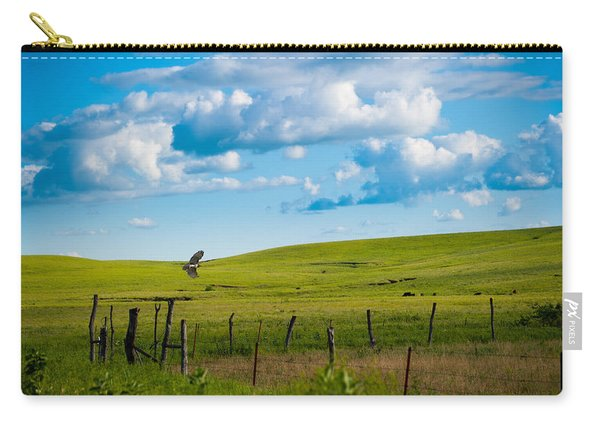 Hawk And Flint Hills Carry-all Pouch