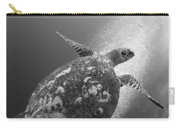 Hawksbill Turtle Ascending Carry-all Pouch