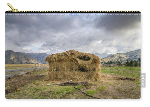Hay Hut In Andes Carry-all Pouch