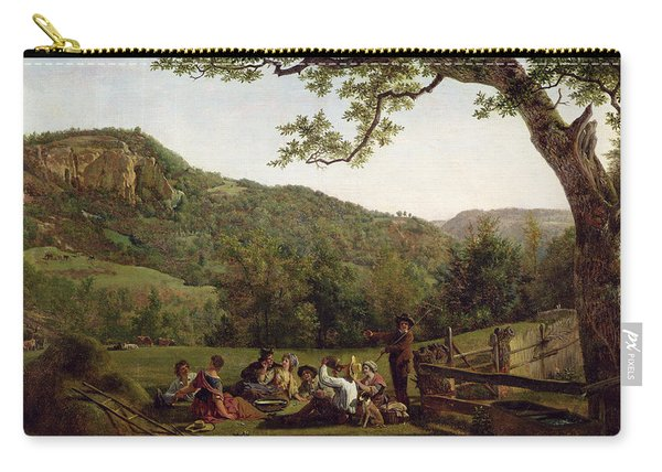 Haymakers Picnicking In A Field Carry-all Pouch