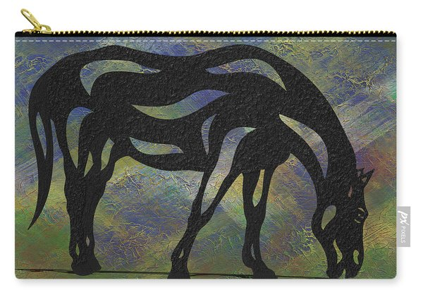 Hazel - Abstract Horse Carry-all Pouch