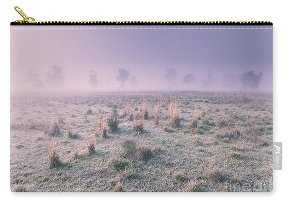 Hazy Australian Winter Scene Carry-all Pouch