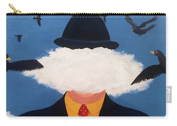 Head In The Cloud Carry-all Pouch