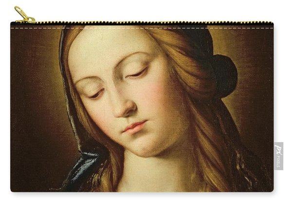 Head Of The Madonna Carry-all Pouch