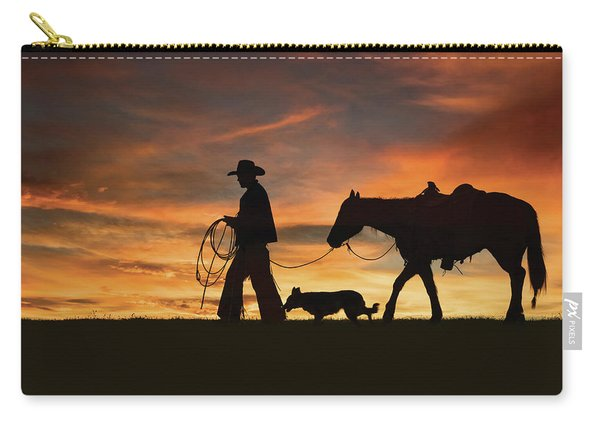 Heading Home Carry-all Pouch