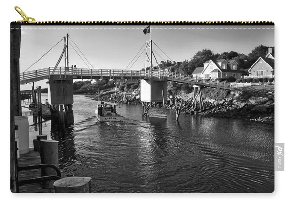 Heading To Sea - Perkins Cove - Maine Carry-all Pouch