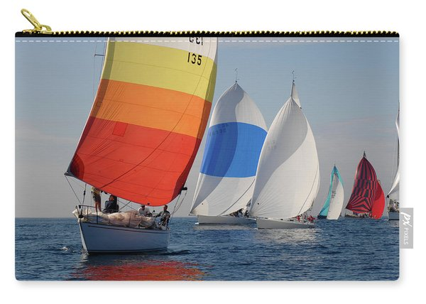 Heading Towind Windward Mark Carry-all Pouch