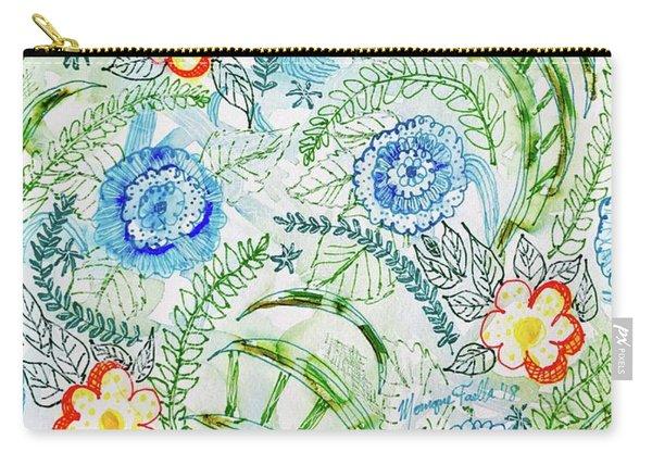 Healing Garden Carry-all Pouch